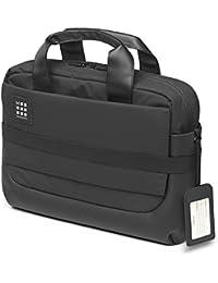 Moleskine ID Collection Cartella da Lavoro Professionale Waterproof Device Bag per Tablet, Laptop, Pc, Notebook e iPad Fino a 15'', Dimensioni 40.6 x 13.1 x 29.6 cm, Colore Nero