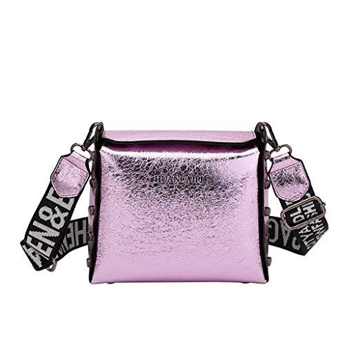 COOKDATE Laptop Handtasche Damen Handtasche Zoll Laptoptasche Damen Shopper Tasche Business Schultertasche für Interview/Arbeit/Geschäft/Hochschule - Pink Lila 3164Lila