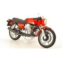 MCW-SC46 1:24 Fertigmodell Moto Guzzi Airone 250 Modellauto rot