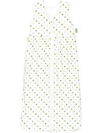 Odenwälder 1342-1307 Gr. 130cm Jersey-Schlafsack Anni weiß-limone
