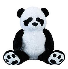 Idea Regalo - Panda gigante coccolone XXL 100 cm di altezza peluche peluche del panda vellutata - per amore