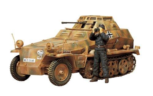 TAMIYA 300035115 - 1:35 WWII Deutsche Halbketten 250/9 Schützen Panzer (1)