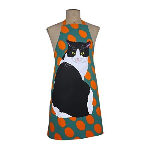 Delantal de gato - diseño de gato