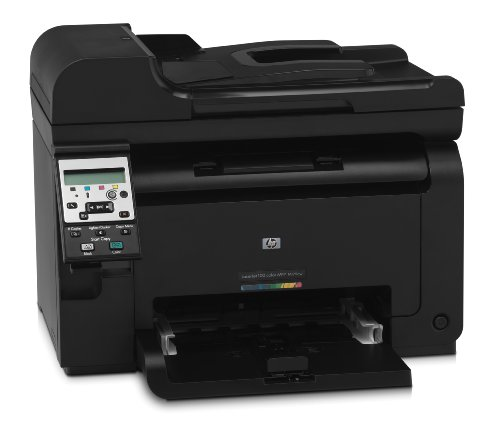 HP LaserJet Pro 100 M175nw e-All-in-One Farblaser Multifunktionsdrucker (A4, Drucker, Scanner, Kopierer, Wlan, Ethernet, USB, 600x600)