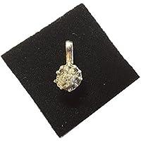 KRIO® - schöner Rohdiamant Anhänger/in Silber gefasst in Kunststoffbox preisvergleich bei billige-tabletten.eu