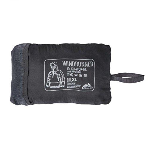 OUTBACK WINDRUNNER Lightweight Windshirt - leichter Nylon Wind und Regenschutz (Coyote, L) (Coyote Cap Fleece)