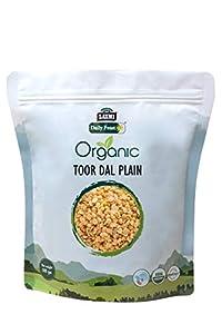 Organic Toor Dal Plain 500 gm - Laxmi Daily Feast