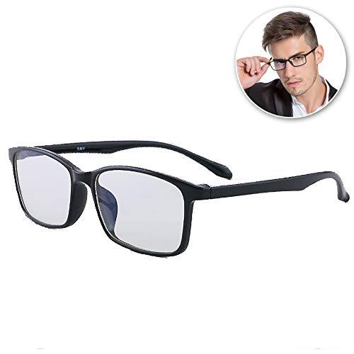 FZXHJ Negativ-Ionen-Anti-Blau-Brille, Computer-Handy-Anti-Strahlungs-Anti-Ermüdungs-Brille, Ultraleichter, Zweifarbiger, Elastischer Brillenrahmen, Unisex (Männer/Frauen),D