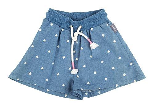 Sigikid Mädchen Jeans Shorts, Mini 116706, Gr. 110, Blau (Denim Light Blue 590)
