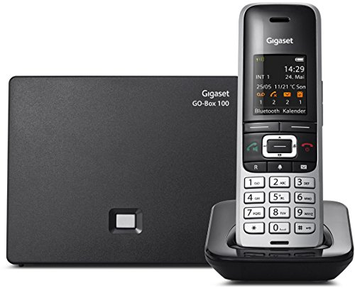 Gigaset S850A Hybrid VoiP Home Office Cordless Phone