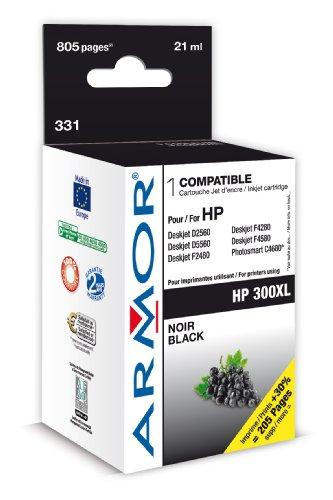 Preisvergleich Produktbild Armor K20272 CC641EE NO.300XL Deskjet D2480/F4280 Tintenpatrone