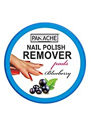 Panache Nail Polish Remover Pads, Blueberry