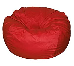 Ahh! Products Cotton Washable Bean Bag, Red, Large by Ahh! Products