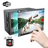 Action Kamera, Campark X20 4K Action Cam 20MP SONY Sensor WIFI Sports Helmkamera Dual LCD...