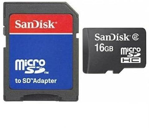 16GB Micro SD SDHC Speicherkarte Karte Memory Card + SD-Adapter für Samsung Galaxy S3 Neo Trend Lite S5 Active Mini neo S7 edge W XCover 3 Young 2