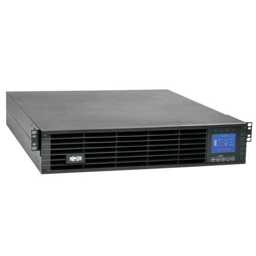 Tripp Lite SUINT3000LCD2U - SmartOnline 208/230V 3kVA 2.7kW Double-Conversion UPS 2U Extended Run SNMP Card Option LCD USB DB9 -