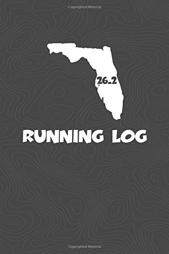 Running Log: Blank Lined Journal for anyone that loves Florida, running, marathons! por KwG Creates