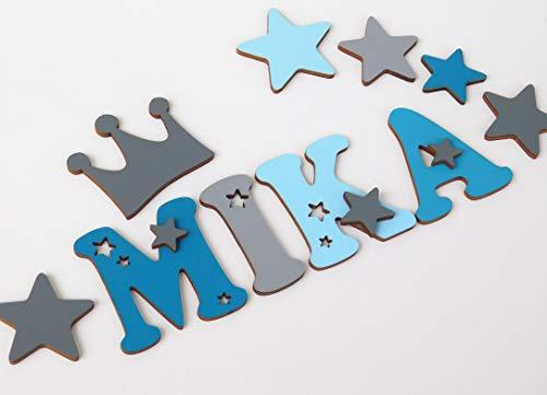 Holzbuchstaben – Kinder Bücherregal verschönern | Bücherregal Kinder