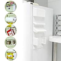 """""""Description: 1. Multipurpose combination shelf - towel rack, hook rack, cruet stand, surface box frame, side tray holder Kitchen busy, they often find to find a seasoning cans, aluminum foil or plastic wrap, but also overturned turn, very inconvenie..."""