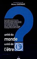 Unité du monde, unité de l'être