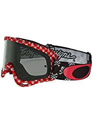 Mx Shade Men Oakley Xs O Frame Mx Skullbone Red