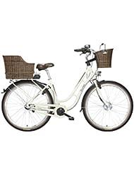 FISCHER E-Bike RETRO ER 1704, Vorderradmotor 36 V/317 Wh und LED-Display