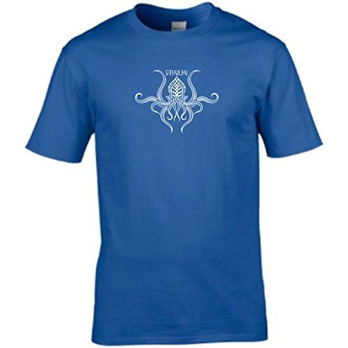 Cthulhu–da uomo T shirt Medium,Royal