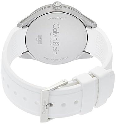 Calvin Klein Reloj Analógico para Hombre de Cuarzo con Correa en Silicona K5E511K2 de Calvin Klein