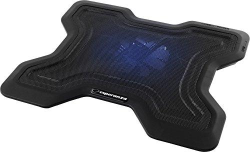"Esperanza 15.6"" Laptop Kühler │ Cooling Pad │ Kühl-Unterlage │Notebook-Ständer │PC-Cooler │Festplatten-Kühlung"