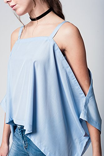 Q2 Blouse Femme Bleu (blue)