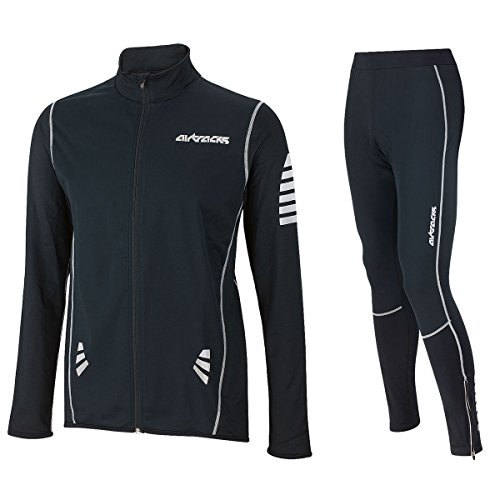 AIRTRACKS WINTER RADTRIKOT SET PRO: FAHRRADHOSE PRO / THERMO RADHOSE / WINDSTOPPER + FAHRRADTRIKOT PRO / THERMO RADTRIKOT / WINDSTOPPER