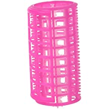 TOOGOO (R) 10 Pcs Peluqueria Pelo Encrespa Herramienta Rosa Plastico DIY rodillo del bigudi