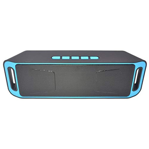 Lywljg Doppelte Horn Subwoofer Bluetooth Lautsprecher Tragbare Minisport Multifunktions Funklautsprecher