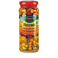 Mezcla de chiles, vidrio 310g (peso escurrido 180g) - Pimenta Misturada D´HORTA 310g