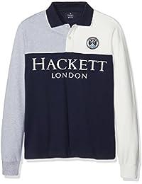Hackett London Ls Hf Sp Hkt y, Polo para Niños