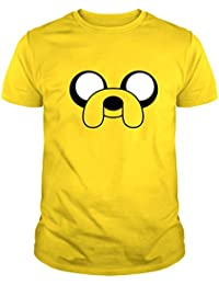 The Fan Tee Camiseta de Hombre Hora de Aventuras Jake Finn