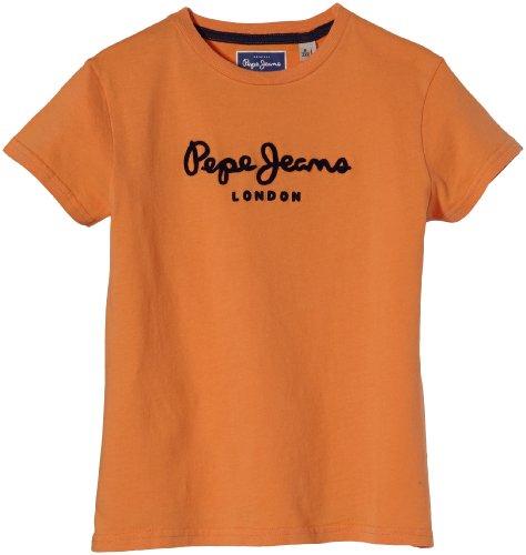 pepe-jeans-camiseta-para-nio-color-orange-orange-talla-10-aos