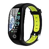 FinukGo F21 Step Sports Wasserdicht Running Sleep Health Monitoring Wear Smart Armband Herren Sportarmband - Grün