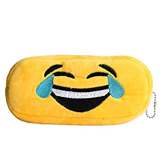 cadillaps Emoji estuche felpa Pen Bolsa rectangular bolsa de cosméticos bolsa de papelería