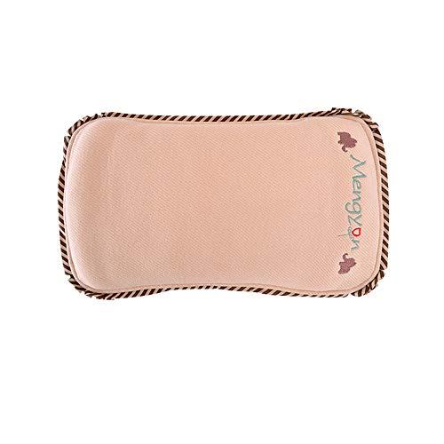 Babykissen Memory Schaum Baby Pillow Atmungsaktiv Babykopfkissen Gegen Kopfverformung Lagerungskissen Vorsorge Der Plagiozephalie Kissen Gegen Plattkopf Anti-Allergen Baby Pillow -