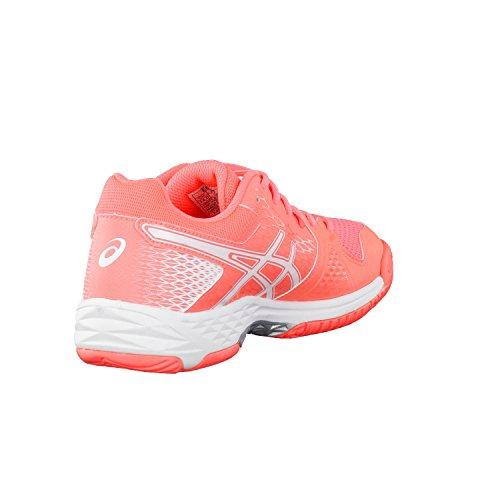 Chaussures femme Asics Gel-DOMAIN 4 corail flash/blanc Flash Coral/White/White