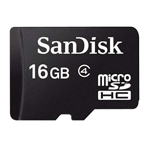 SanDisk 16GB Class 4 micro SDHC Memory Card (SDSDQM-016G-B35)