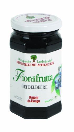 """Rigoni di Asiago Heidelbeer-Fruchtaufstrich """"Fiordifrutta"""" (250 g) – Bio"""