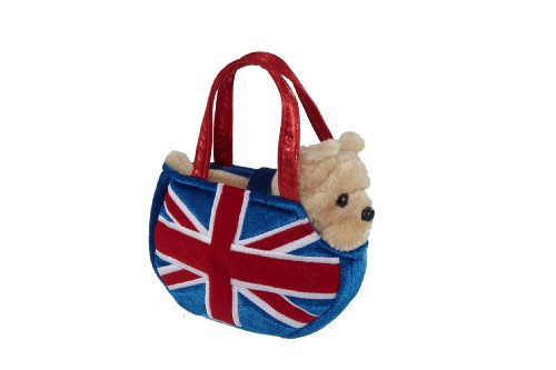 Aurora 8-inch Fancy Pal Bulldog Union Jack