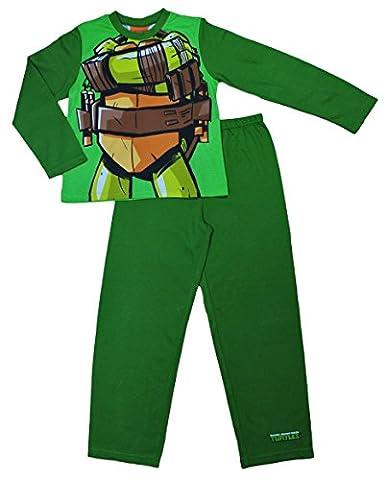 Fancy Dress Teenage Mutant Ninja Turtles Pyjamas 3 to 9 Years (7-8 Years)