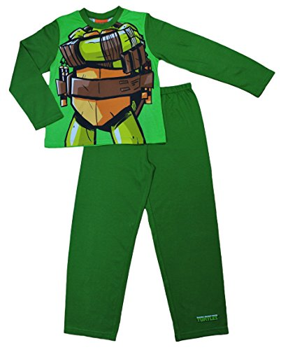 Image of Fancy Dress Teenage Mutant Ninja Turtles Pyjamas 3 to 8 Years (6-7 Years)