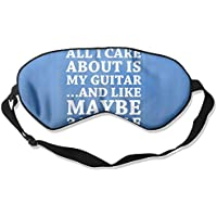 All I Care About Is Playing Guitar 99% Eyeshade Blinders Sleeping Eye Patch Eye Mask Blindfold For Travel Insomnia... preisvergleich bei billige-tabletten.eu