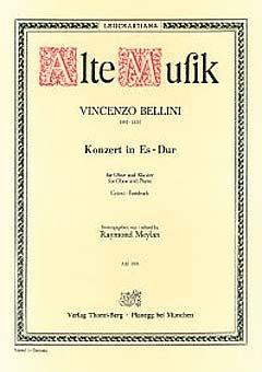 KONZERT ES-DUR - OB ORCH - arrangiert für Oboe - Klavier [Noten / Sheetmusic] Komponist: BELLINI VINCENZO