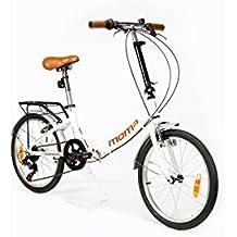 """Moma Bikes Bicicletta Pieghevole ruota 20"""" SHIMANO. Alluminio"""