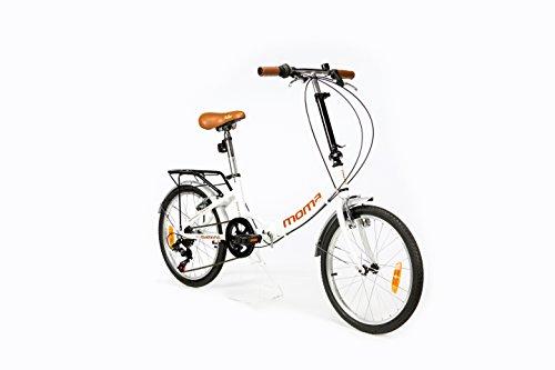"""Moma Bikes, Bicicletta Pieghevole ruota 20\"""" SHIMANO. Alluminio"""